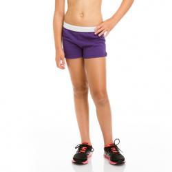 Soffe Girls' Authentic Shorts - Purple, L