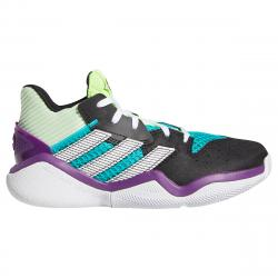 Adidas Boys' Harden Stepback Shoes - Green, 5.5