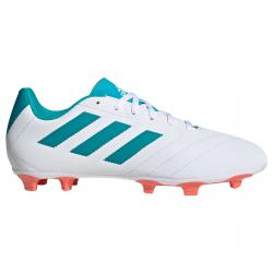 Adidas Women's Goletto Vii Firm Ground Soccer Shoes - White, 8