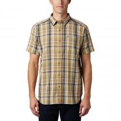 Columbia Men's Short-Sleeve Brentyn Trail Shirt - Brown, S