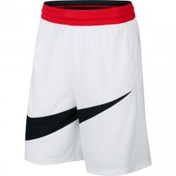 Nike Men's Dri-Fit Basketball Shorts - White, XL