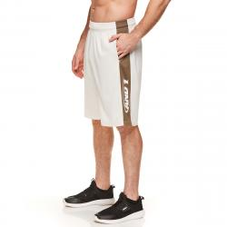 And1 Men's Triple Double Basketball Shorts - Black, M