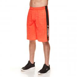 And1 Men's Triple Double Basketball Shorts - Red, S