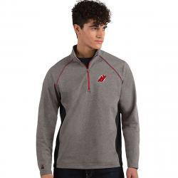 New Jersey Devils Men's Stamina Quarter Zip Pullover - Black, XXL