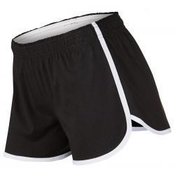 Soffe Girls' Dolphin Shortie Shorts - Black, S