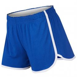 Soffe Girls' Dolphin Shortie Shorts - Blue, L