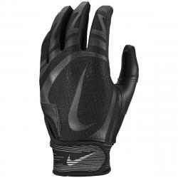 Nike Kids' Alpha Huarache Edge Batting Glove - Black, L