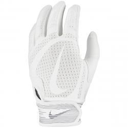 Nike Kids' Alpha Huarache Edge Batting Glove - White, S