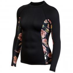 O'neill Women's Rashguard Long-Sleeve Shirt - Black, S