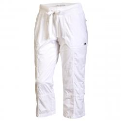 Tommy Hilfiger Sport Women's Convertible Cargo Pant - White, S