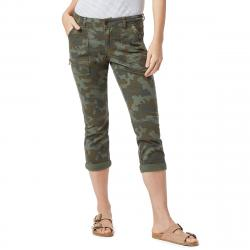 Supplies By Unionbay Women's Norma Camo Crop Pants - Green, 8