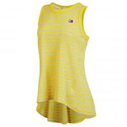 Tommy Hilfiger Sport Women's Hi-Low Tank Top - Yellow, XL