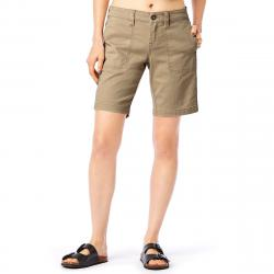 Supplies By Unionbay Women's 9 In. Nadeen Chino Midi Shorts - Brown, 10