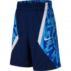 Nike Big Boys' Avalanche Aop Basketball Shorts - Blue, S