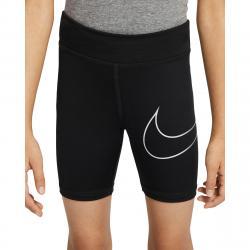 Nike Little Girls' Dri-Fit Bike Shorts - Black, 5
