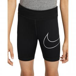 Nike Little Girls' Dri-Fit Bike Shorts - Black, 6