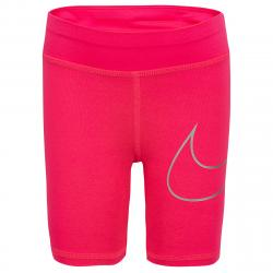 Nike Little Girls' Dri-Fit Bike Shorts - Red, 5