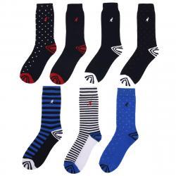 Kangol Women's Formal Socks, 7-Pack - Various Patterns, 6-10