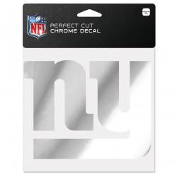 New York Giants Wincraft Chrome Decal