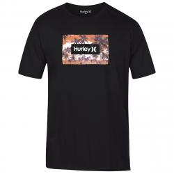 Hurley Men's Boarders Short Sleeve Tee - Black, M