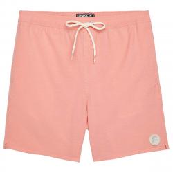 O'neill Men's Solid Volley Board Shorts - Orange, M