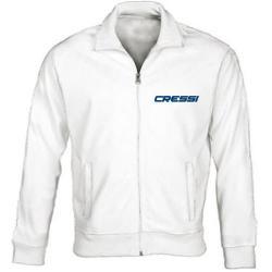 Cressi Team USA Track Jacket, White