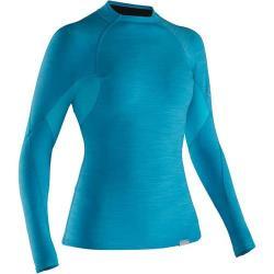 NRS Women's Hydro-Skin 0.5 Long-Sleeve Shirt, Blue Atoll