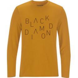 Black Diamond Men's L/S Scattered Tee Gold