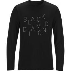 Black Diamond Men's L/S Scattered Tee Black