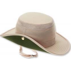 Tilley LTM3 Snap-Up Airflo Hat Natural / Forest Green