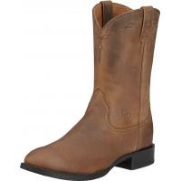 Ariat Men's Heritage Roper Boot Distressed Brown