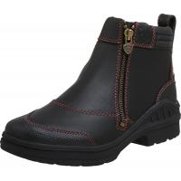 Ariat Women's Barnyard Side Zip Boot Dark Brown