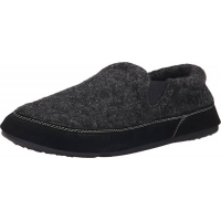 Acorn Men's Fave Gore Slippers Black Tweed