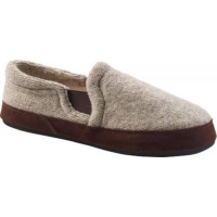 Acorn Men's Fave Gore Slippers Grey Ragg Wool