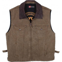 Kakadu Traders Concealed Carry Kelly '12' Vest Tobacco