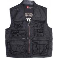 Kakadu Gunn-Worn Traveller Concealed Carry Vest Black