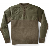 Filson 10692 Henley Guide Sweater Peat Green