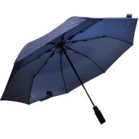 EuroSCHIRM Light Trek Auto Umbrella w/ Flashlight Navy