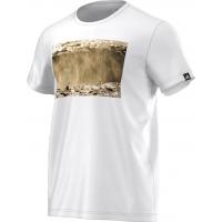 Adidas Men's Extreme Outdoor SS T-Shirt White