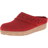 Haflinger Women's GZ Lacey Grizzly Clog Chili