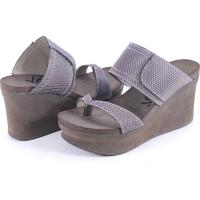 OTBT Brookfield Sandals Pewter Mesh