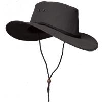 Kakadu Traders 3H31 Cape York Canvas Hat Black