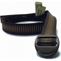 Bison Designs 38mm Crescent Money Belt Cappuccino