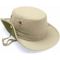 Tilley T3 Snap-Up Hat Khaki - 6 7/8
