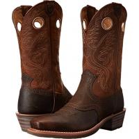 Ariat Men's Heritage Roughstock Boot Brown/Rowdy