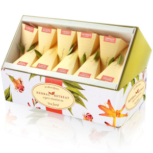Tea Forte Herbal Retreat Collection - 20 Infuser Ribbon Box