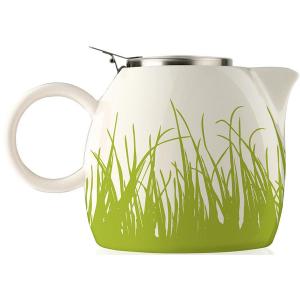 Tea Forte PUGG Ceramic Teapot - Spring Grass - 24 oz teapot
