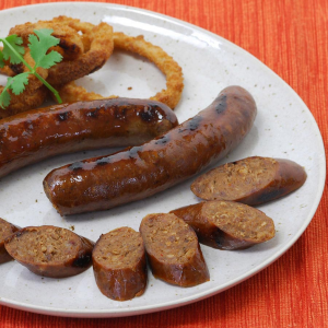 Image of 6-inch Bison Chipotle Sausages - 2.25 lbs pack, 10 links