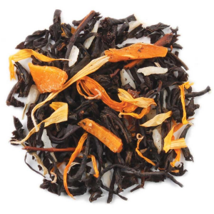 Tea Forte Peach Brulee Black Tea - Loose Leaf Tea - 50 Servings Canister