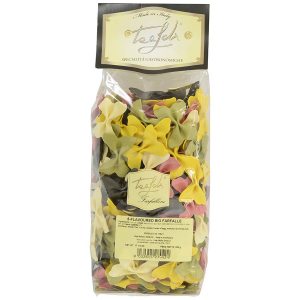 Image of 5-Flavored Farfalloni Pasta (Large Bow-Tie) - 17.6 oz bag